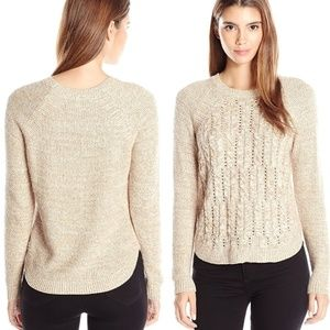 ~ Cable Knit Sweater